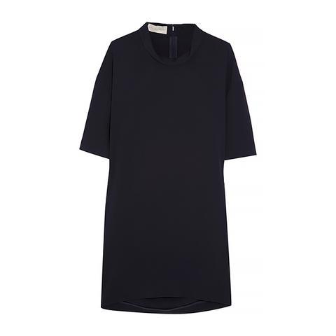 Stretch-Cady Mini Dress