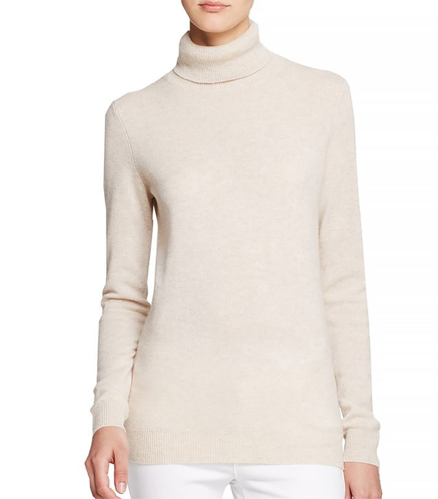 C By Bloomingdale's Turtleneck Cashmere Sweater