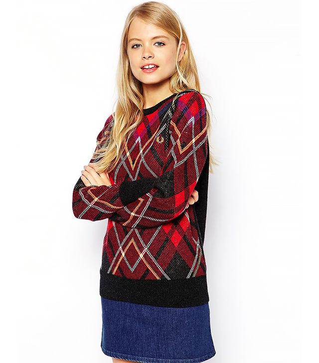 Fred Perry Plaid Sweater