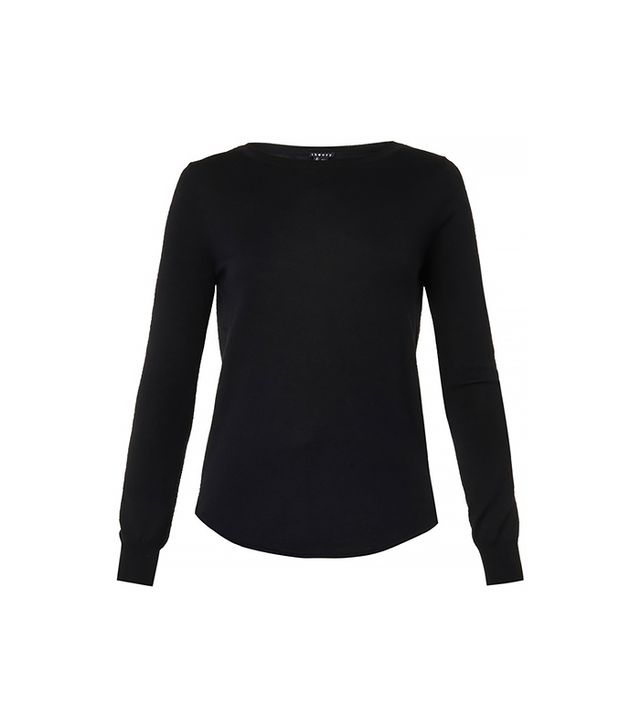 Theory Landran Fine-Knit Sweater