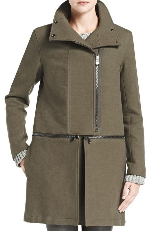 J Brand Anise Zip Off Coat