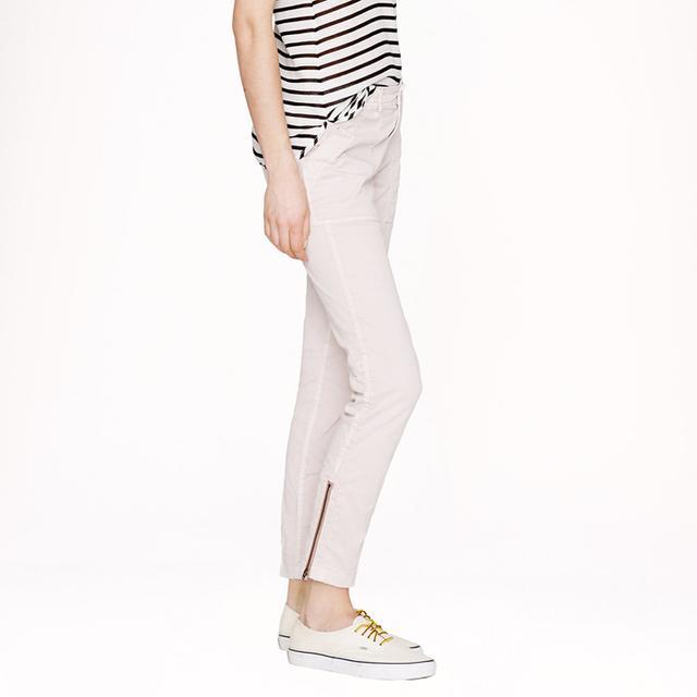 J. Crew Skinny Zipper Pant