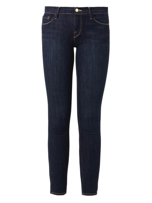 Frame Le Skinny De Jeanne Mid-Rise Skinny Jeans