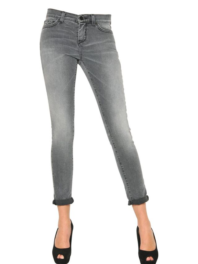 Space Style Concept Super Skinny Washed Stretch Denim Jeans