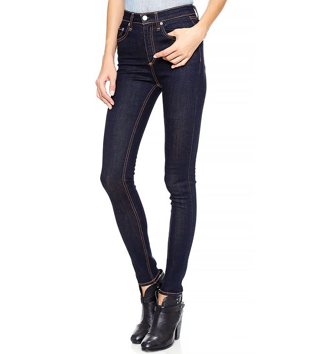 Rag & Bone/JEAN Justine High Rise Legging Jeans