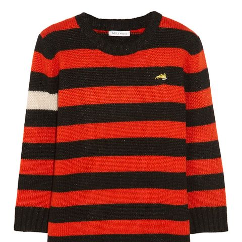 Menace Striped Knitted Sweater
