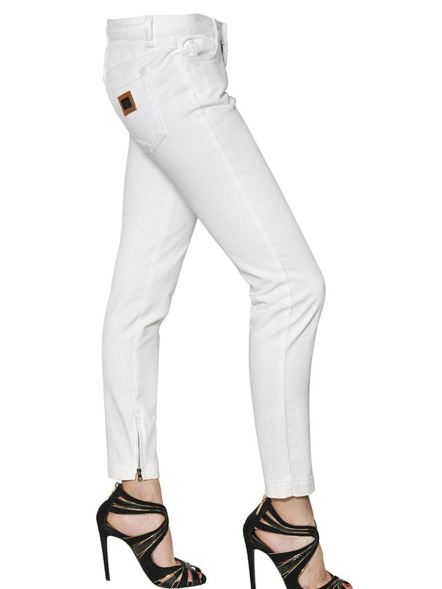 Dolce & Gabbana Pretty Stretch Cotton Denim Jeans