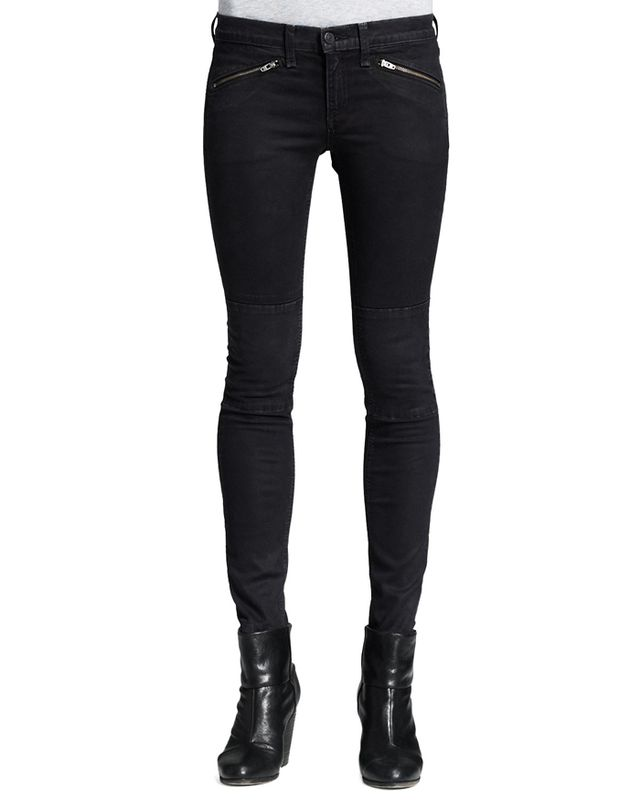 Rag and Bone Ridley Mid-Rise Legging Jeans