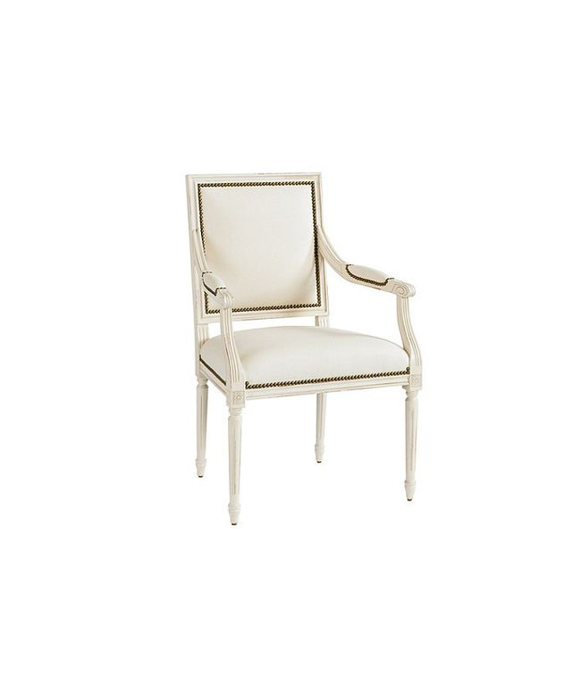 Ballard Designs Square Louis Armchair