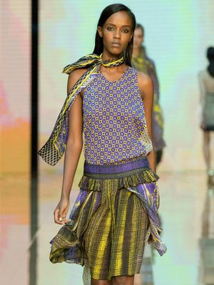 Just Cavalli S/S 15 Takes Hippie-Chic to Whole New Levels