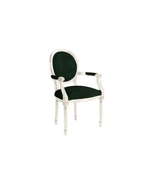Ballard Designs Oval Louis XVI Back Armchair