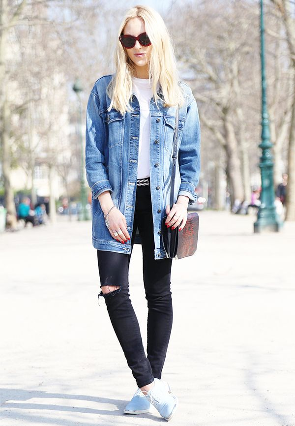 Secret #2: The right denim jacket will make your entire outfit.
