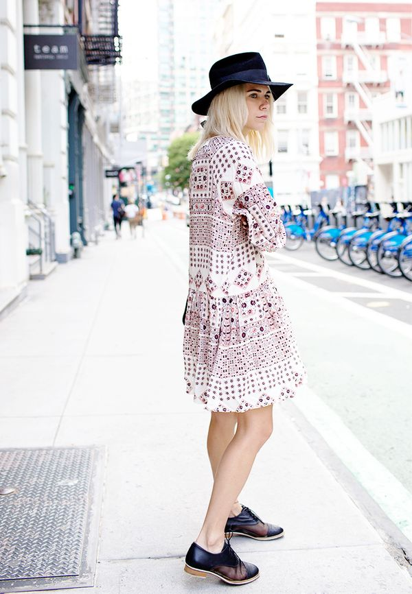 Secret #3: When in doubt, put on a breezy bohemian dress.
