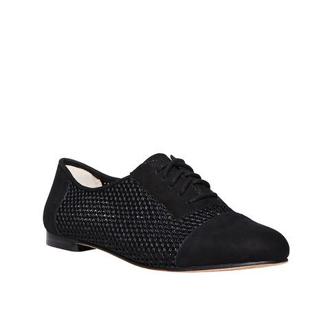 Masson Leather & Woven Mesh Oxfords