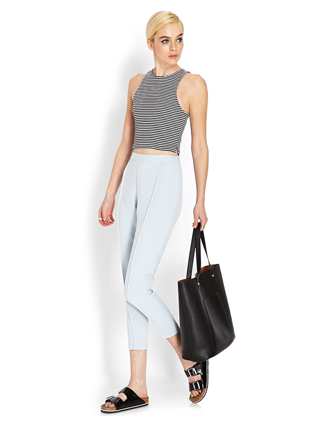 Forever 21 High Waisted Trousers