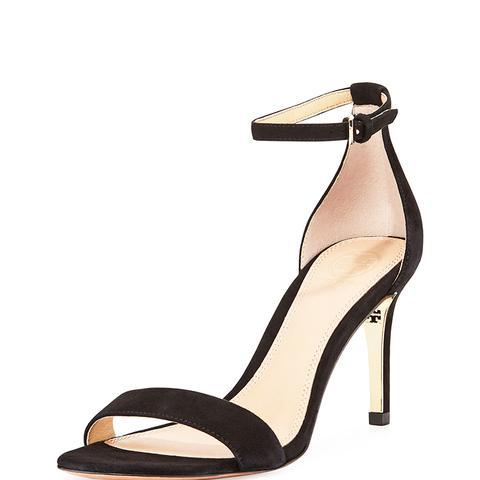 Marena Suede Ankle-Strap Sandals