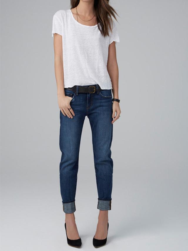 Velvet Jenny Tailored Boyfriend Jeans