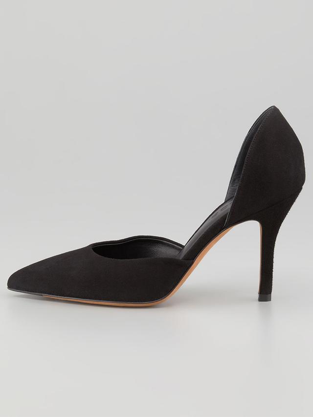Vince Pointed Toe D'Orsay Pumps Celeste High Heels