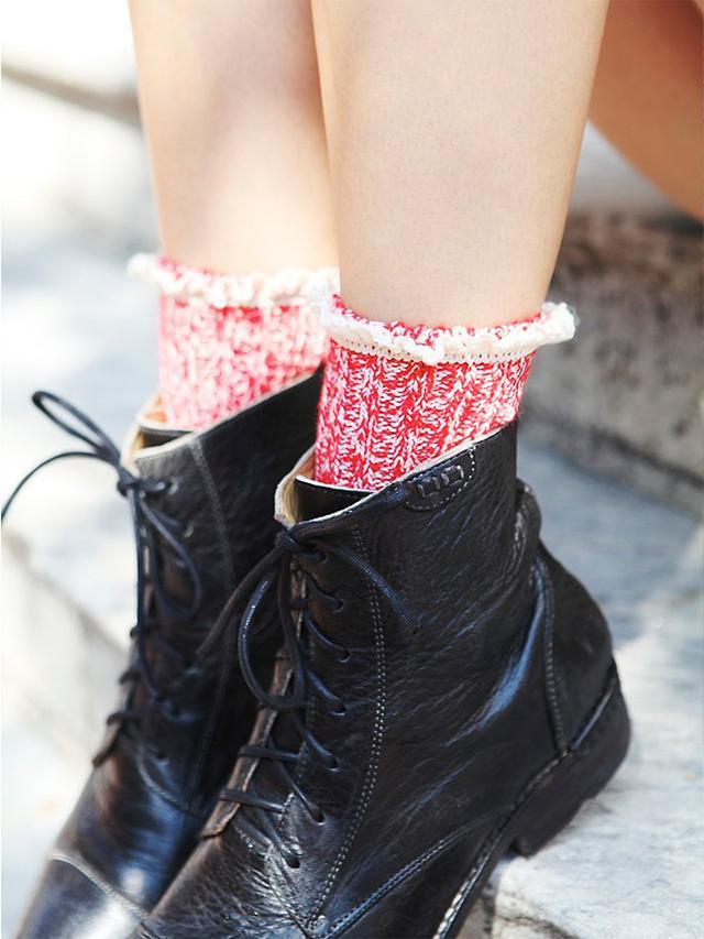 Free People Heathered Highland Boot Socks