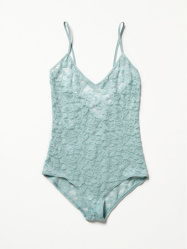 Free People Lace Bodysuit