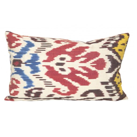 Jayson Home Ikat Velvet Pillow