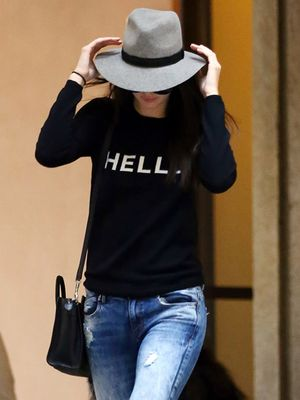 Kendall Jenner Goes Stylishly Incognito in Milan