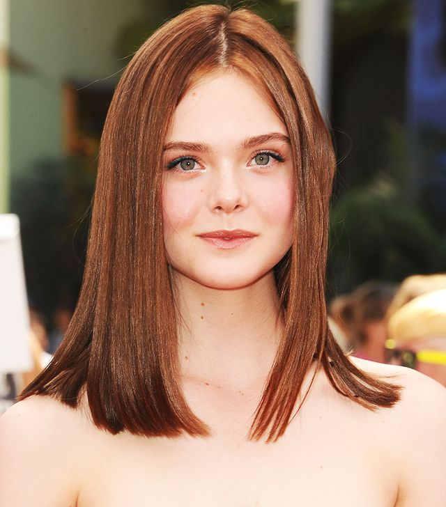 Whoa—Elle Fanning Debuts a Grown-Up New Hair Colour