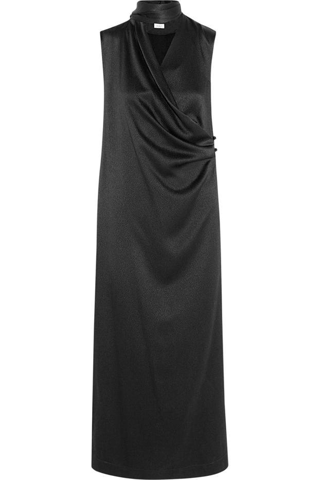 Isa Arfen Woven Silk-Blend Tunic