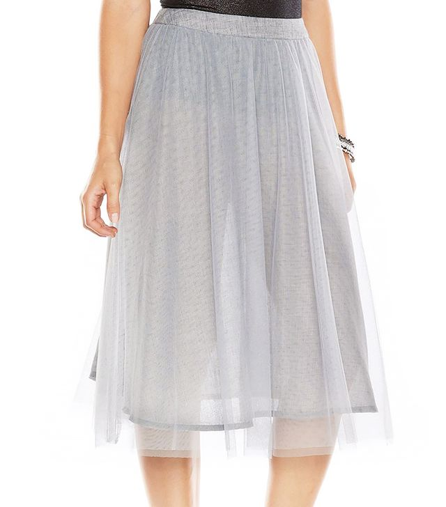 LC Lauren Conrad Tulle Midi Skirt