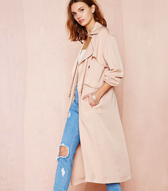 Nasty Gal Double or Nothing Convertible Trench Coat
