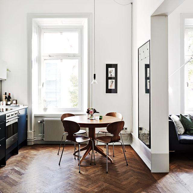Tour a Scandinavian Small Space with Timeless Style