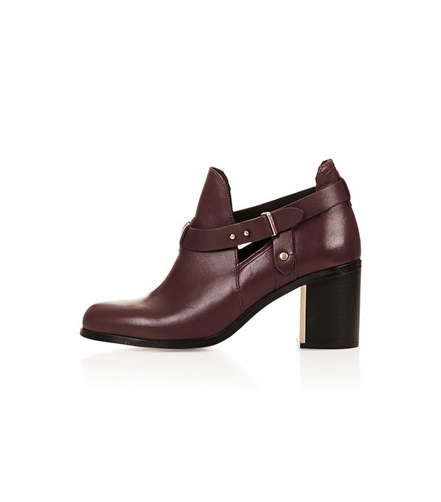 Topshop Martha Cut-Out Boots