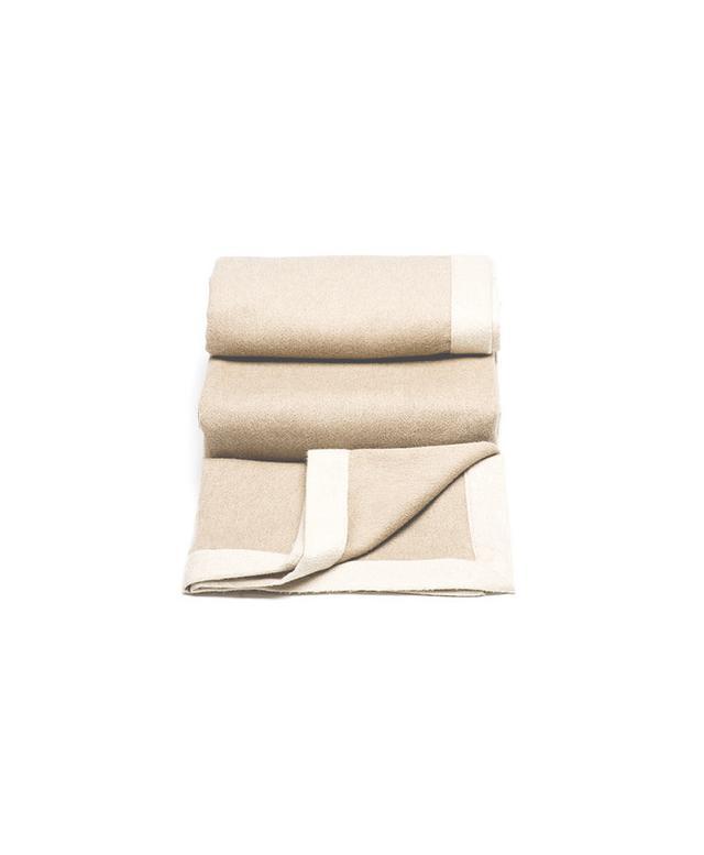 Brunello Cucinelli Camel Cashmere Blanket