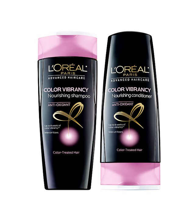 L'Oréal Paris Advanced Haircare Color Vibrancy Nourishing Shampoo and Conditioner