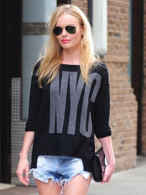 Kate Bosworth's Cool NYC Sweater Will Only Run You $60