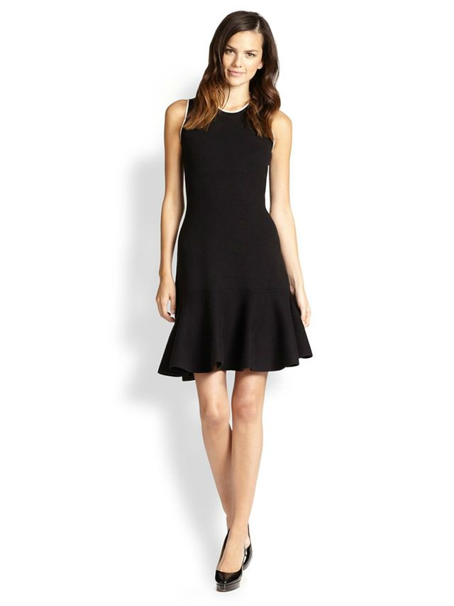 kate spade new york Fluted Sweater Dress