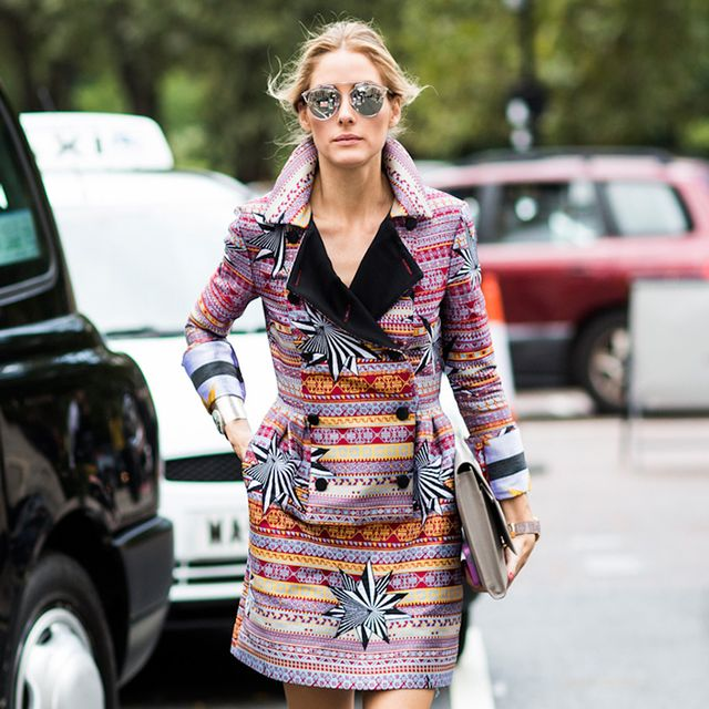 Would You Wear Olivia Palermo's Coat Dress?