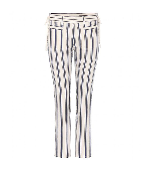 Vanessa Bruno Armand Linen and Cotton-Blend Trousers