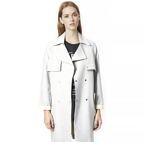 Soft Bonded Trench Coat