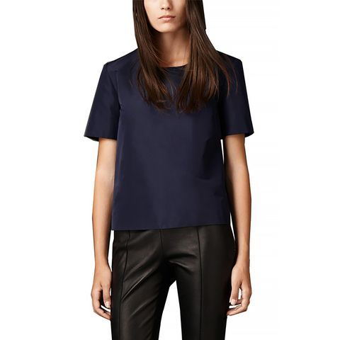 Boxy Fit Technical Cotton Top