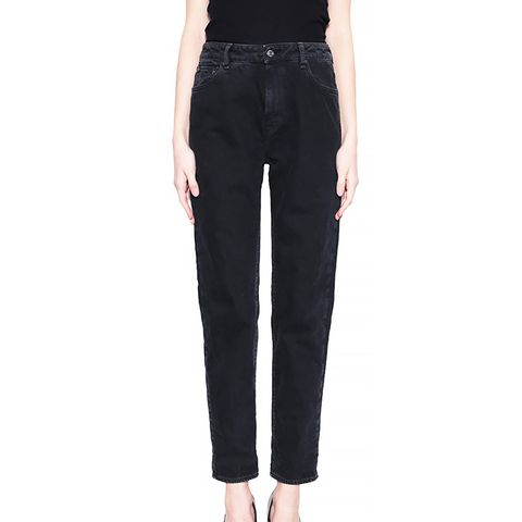 Baggy Mom Cotton Jeans