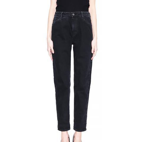 Baggy Mum Cotton Jeans