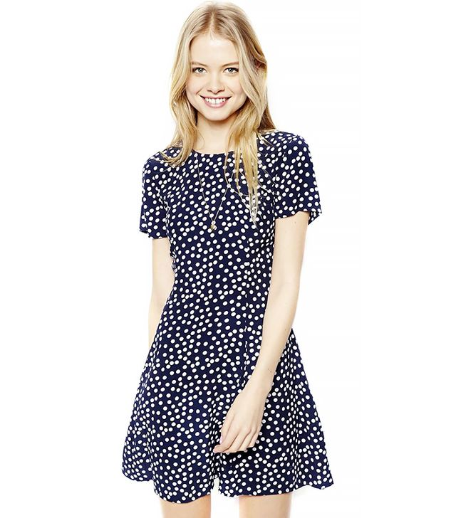 The Secret to Pulling Off Polka Dots Without Looking Childish