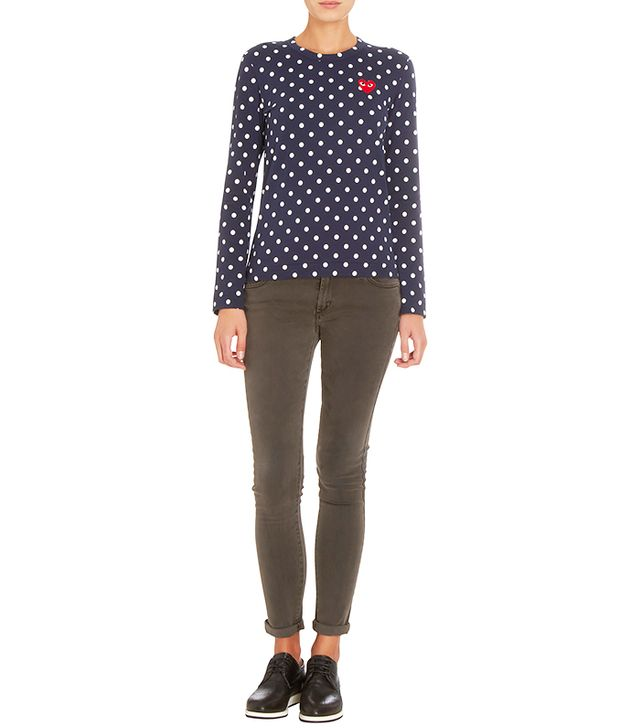 PLAY by Comme des Garçons Polka Dot Long Sleeve T-Shirt