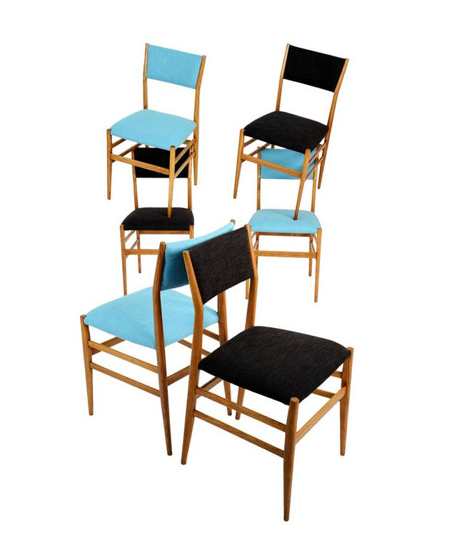 1st Dibs Leggera Chairs By Gio Ponti For Cassina