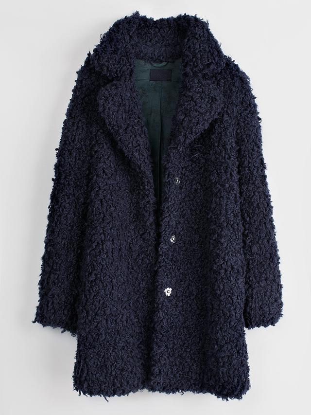 Zadig & Voltaire Kana Faux-Fur Snap Coat