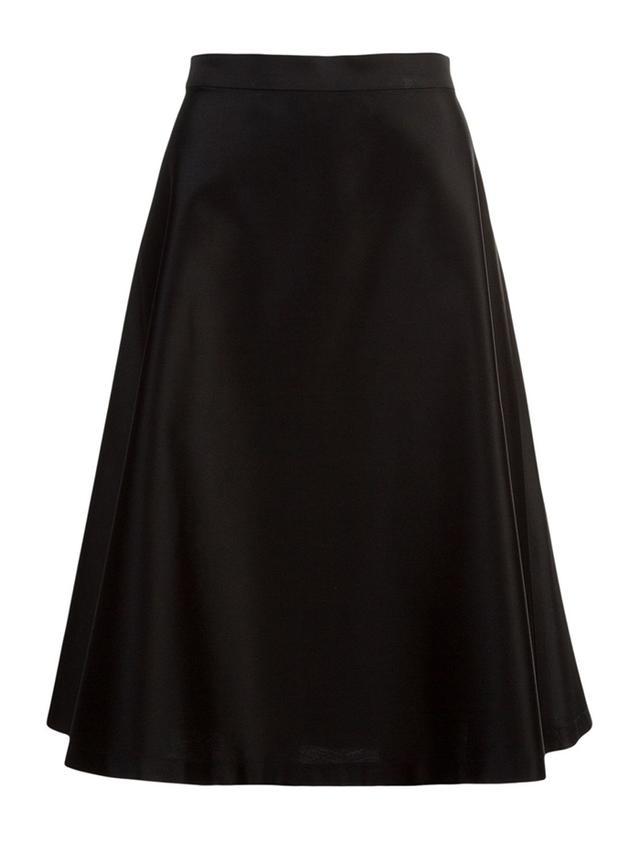 Vitorino Campos A-Line Midi Skirt