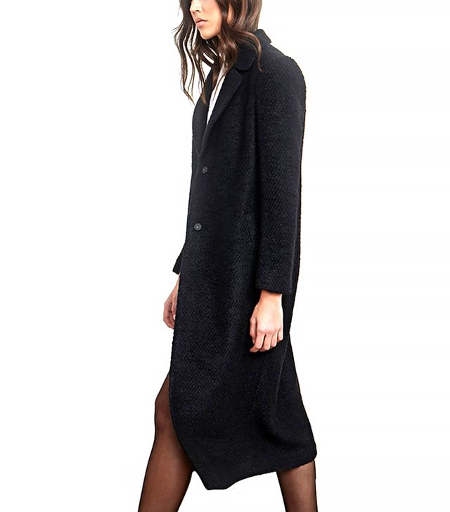Forever 21 Textured Longline Duster Coat