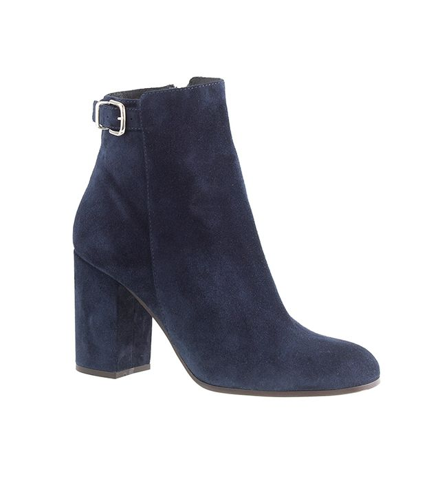 J. Crew Barrett Suede Ankle Boots
