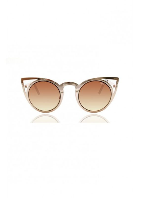 Quay Australia Invader Gold Sunglasses